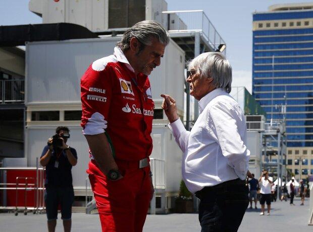Bernie Ecclestone, Maurizio Arrivabene