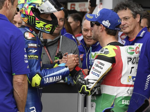 Cal Crutchlow, Valentino Rossi
