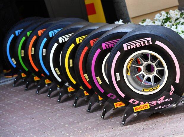Pirelli Reifen Formel 1 2018