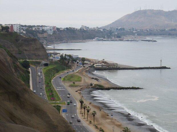 Lima ist die einzige südamerikanische Hauptstadt direkt am Pazifik