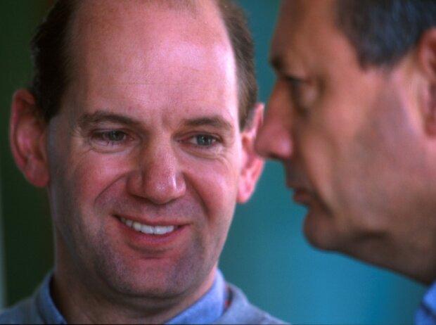 Adrian Newey, Ron Dennis