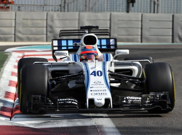 Williams vergibt letztes Cockpit an Sirotkin