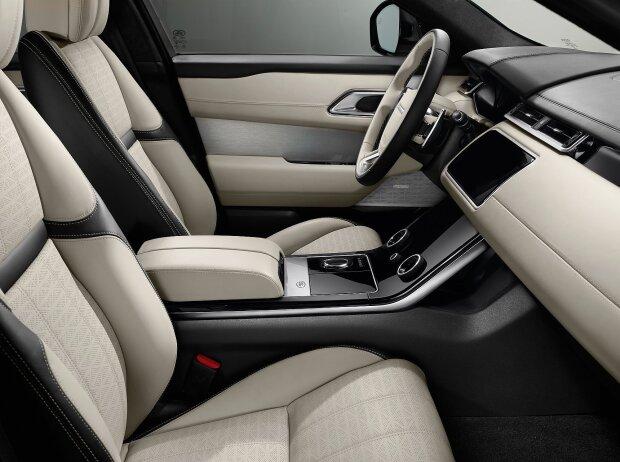 Innenraum des Range Rover Velar 2018