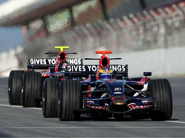 Sébastien Bourdais vor Sebastian Vettel