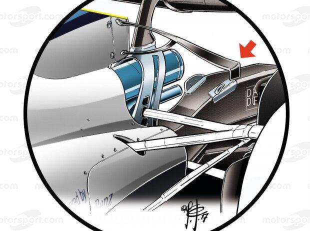Konzeptzeichnung T-Flügel