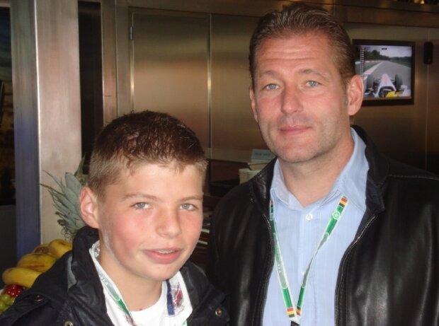 Max Verstappen, Jos Verstappen, 2010