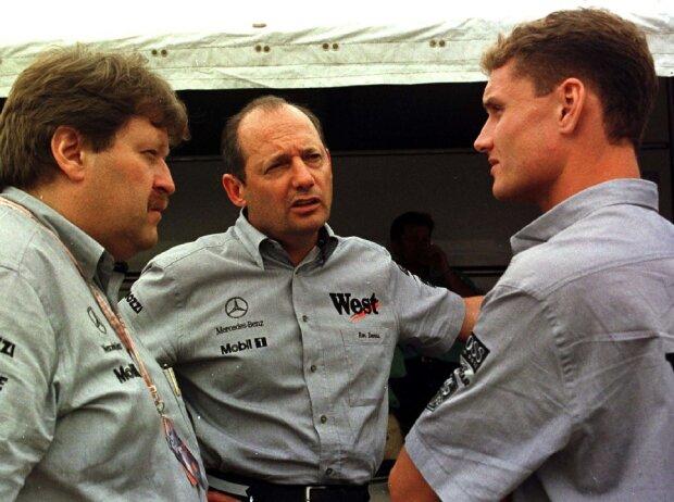 Norbert Haug, Ron Dennis, David Coulthard