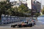 Jean-Eric Vergne (Techeetah), Nelson Piquet Jun. (Jaguar) und Andre Lotterer (Techeetah)