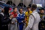 David Coulthard und Ryan Hunter-Reay
