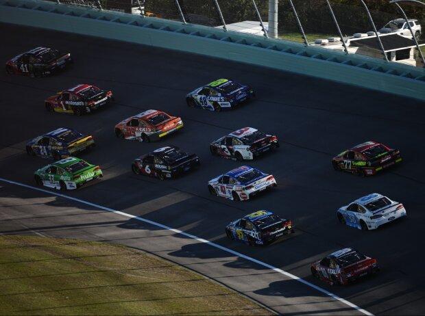 NASCAR-Action in Homestead