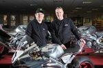 John McGuinness und Stuart Garner