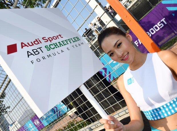 Gird Girl Formel E Hongkong