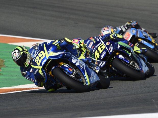 Andrea Iannone, Valentino Rossi
