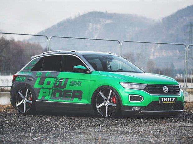 VW T-Roc mit Luftfahrwerk und Dotz-Felgen