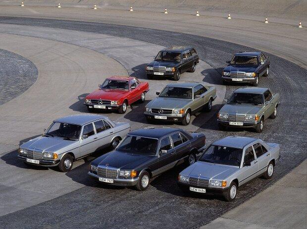 Mercedes-Benz Baureihen 1993
