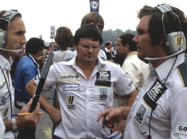 Frank Williams, Frank Dernie, Patrick Head