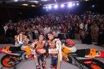 Marc Marquez und Dani Pedrosa (Honda)