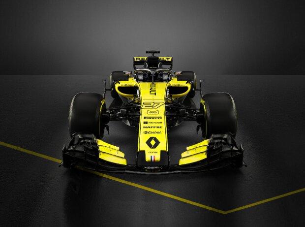 Präsentation/Launch des Renault R.S.18