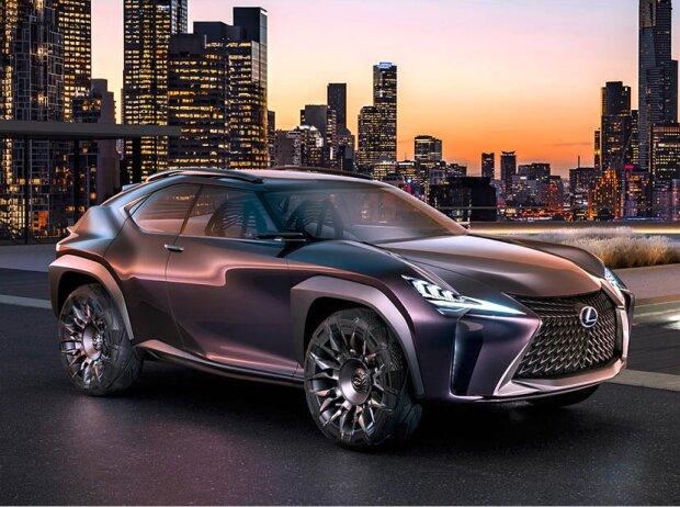Der Lexus UX als Designstudie, wie sie 2016 auf dem Pariser Salon stand