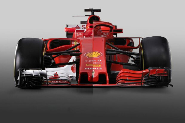 formel 1 live ticker alter und neuer ferrari im vergleich. Black Bedroom Furniture Sets. Home Design Ideas