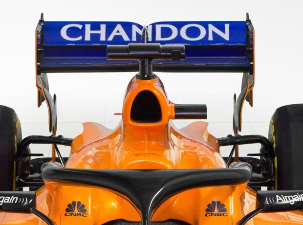 McLaren, MCL33, Hinterradaufhängung