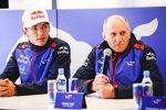 Pierre Gasly (Toro Rosso) und Franz Tost