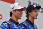 Pierre Gasly (Toro Rosso) und Brendon Hartley (Toro Rosso)