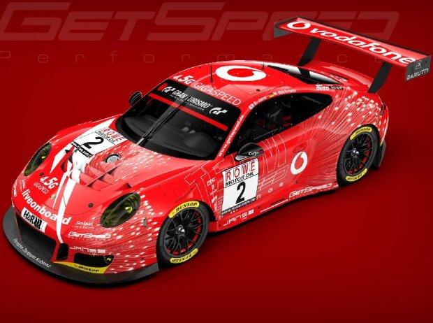 Marek Böckmann, Steve Jans, GetSpeed, Porsche 911 GT3 R
