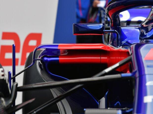 Toro Rosso, STR13, Crashstruktur