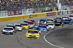 Start: Ryan Blaney (Penske) und Kevin Harvick (Stewart-Haas)