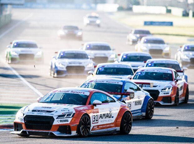 Kevin Arnold Audi TT Cup 2017
