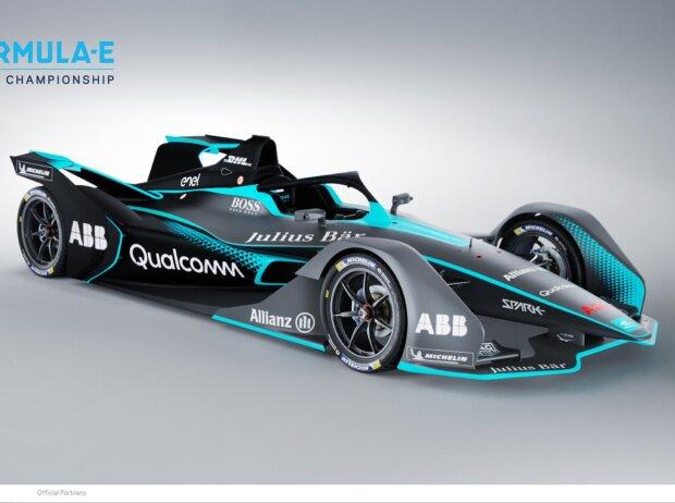 Formel-E-Bolide 2018/19, Saison 5, Präsentation