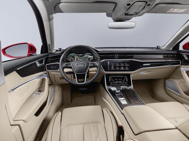 Cockpit des Audi A6 2018