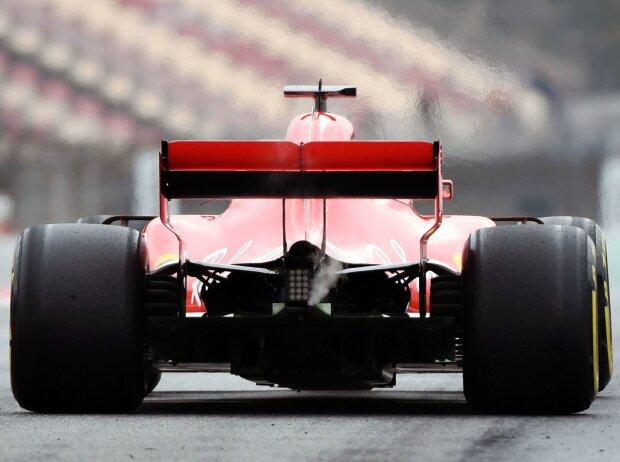 Ferrari SF71H, Rauch, Qualm