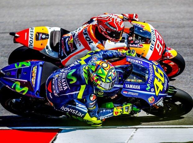 Valentino Rossi, Marc Marquez