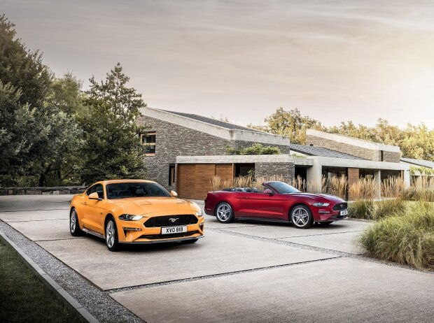 Ford Mustang GT 5.0 und Convertible 2018