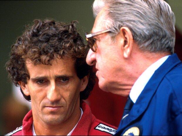 Alain Prost, Jean-Marie Balestre