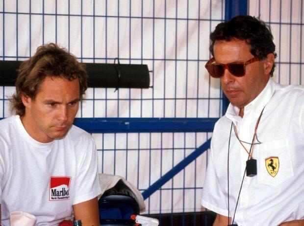 Gerhard Berger, Cesare Fiorio