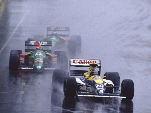 Thierry Boutsen, Emanuelle Pirro, Alessandro Nannini