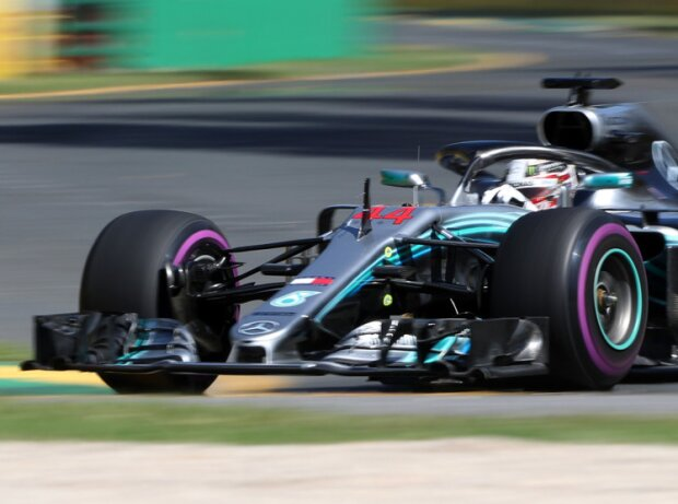 Formel 1 Melbourne 2018 Hamilton Dominiert Erstes Training
