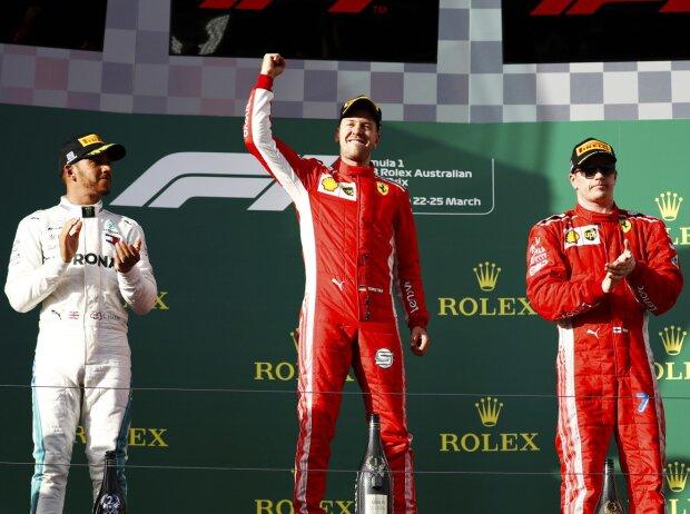 Formel 1 Melbourne 2018 Gelbphase Beschert Vettel Den Sieg