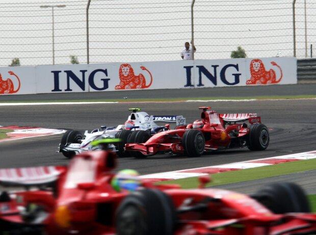 Robert Kubica, Kimi Räikkönen