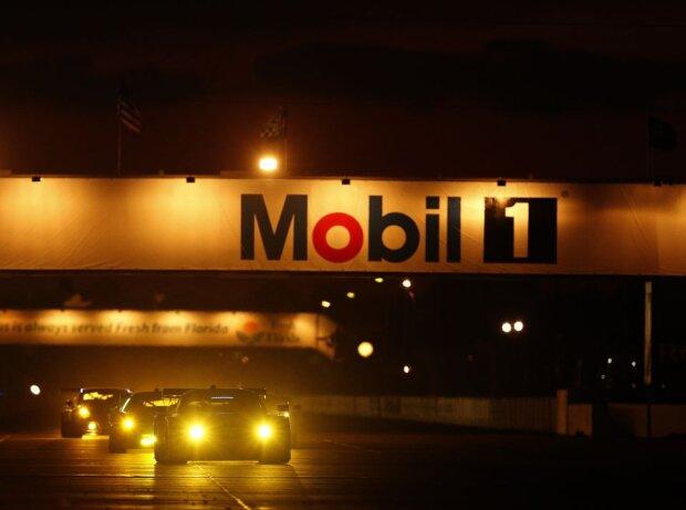 Sebring International Raceway bei Nacht