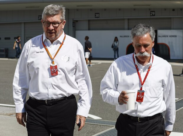 Ross Brawn, Chase Carey