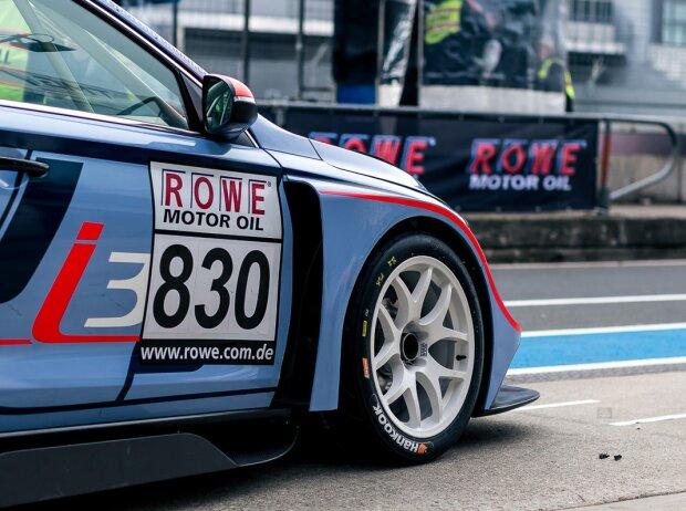 Hyundai i30 TCR, Hankook-Reifen, Pflichtwerbung Startnummer