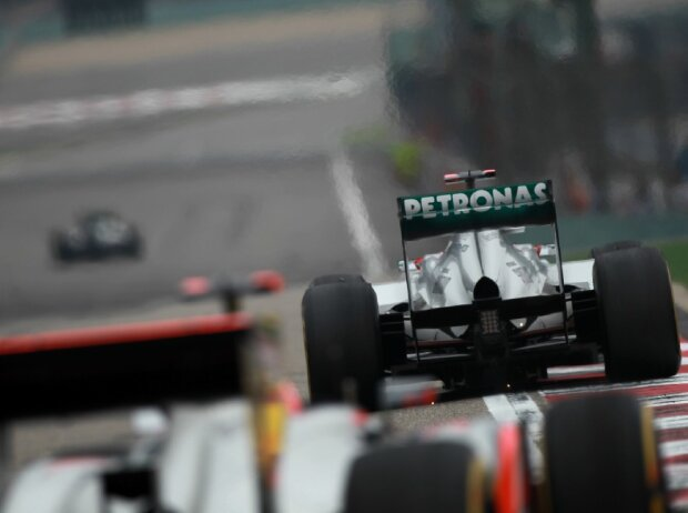 Nico Rosberg, Michael Schumacher, Jenson Button