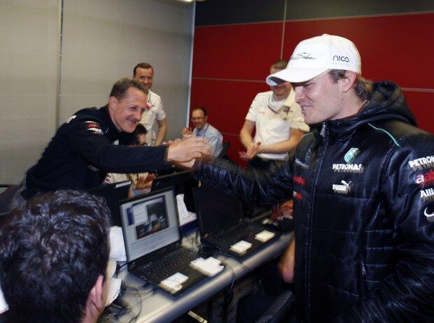Michael Schumacher, Nico Rosberg