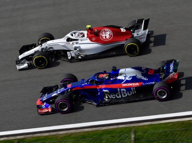 Charles Leclerc, Brendon Hartley