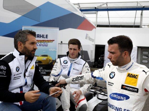 Timo Glock, Joel Eriksson, Philipp Eng