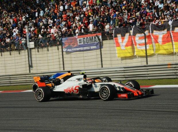 Kevin Magnussen, Fernando Alonso